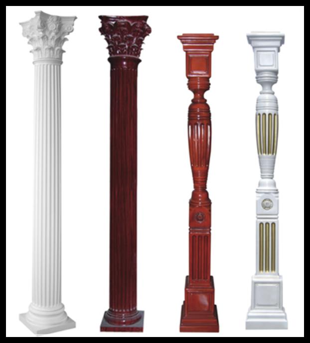 List manufacturers of decorative plastic columns buy for Fiberglass columns for sale