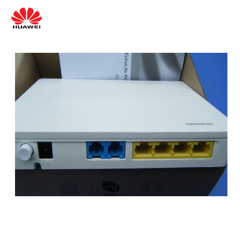 Original new Huawei HG8240F FTTH gepon Optical network terminal with 4FE 2 POTS External antenna