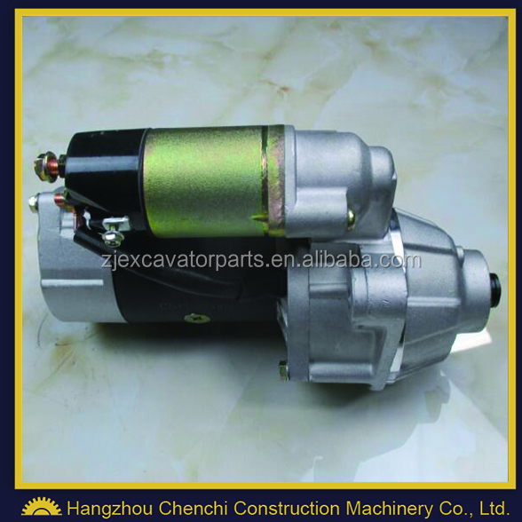 SK350-6 excavator part 6D16 engine starter / starting motor