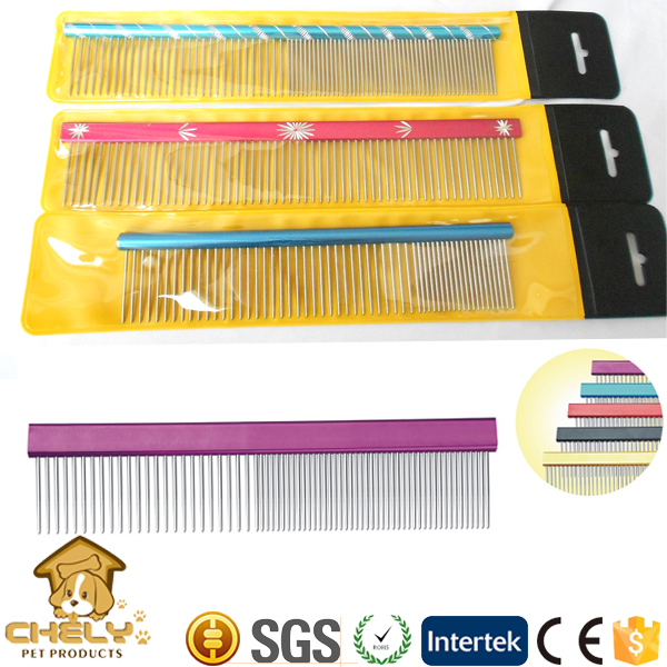 High-end dog grooming tool lice comb dog flea comb wholesale