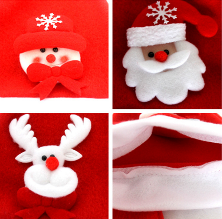 Good quality funny christmas decorating hat in