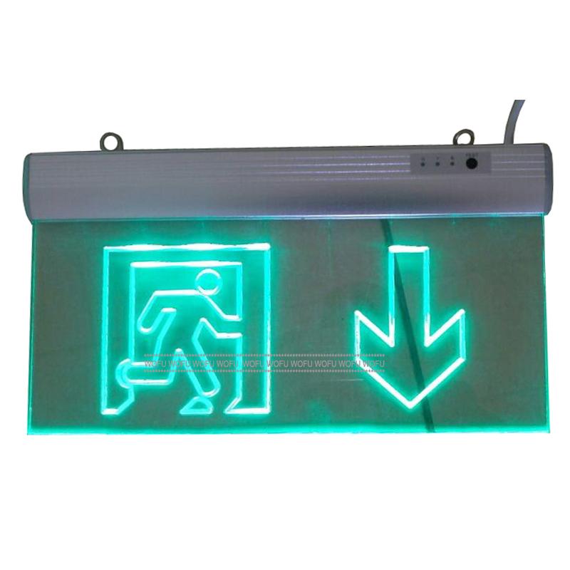 Rechargeable Led Emergency Light,Emergency Exit Light 220v