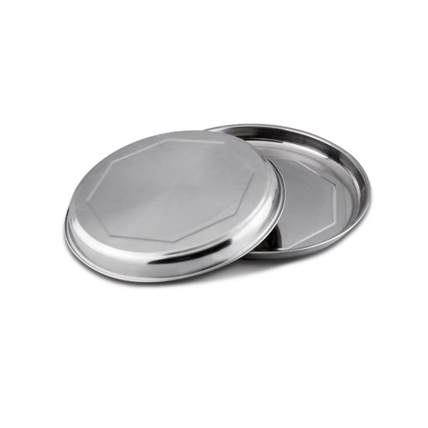 Cheap price elegant charger plates, stainless steel food plate
