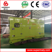 CE ISO approved 10kw to 2000kw diesel genset with brushless alternator and 4 stroke cylinder engine