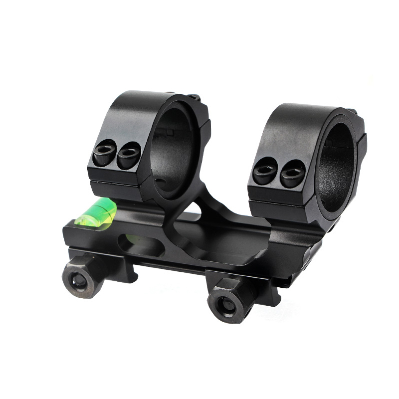 New 30mm Scope Ring Tactical Rifle Scope Mount weaver Base with Bubble Level Picatinny Rail Hunting Gun Accessory