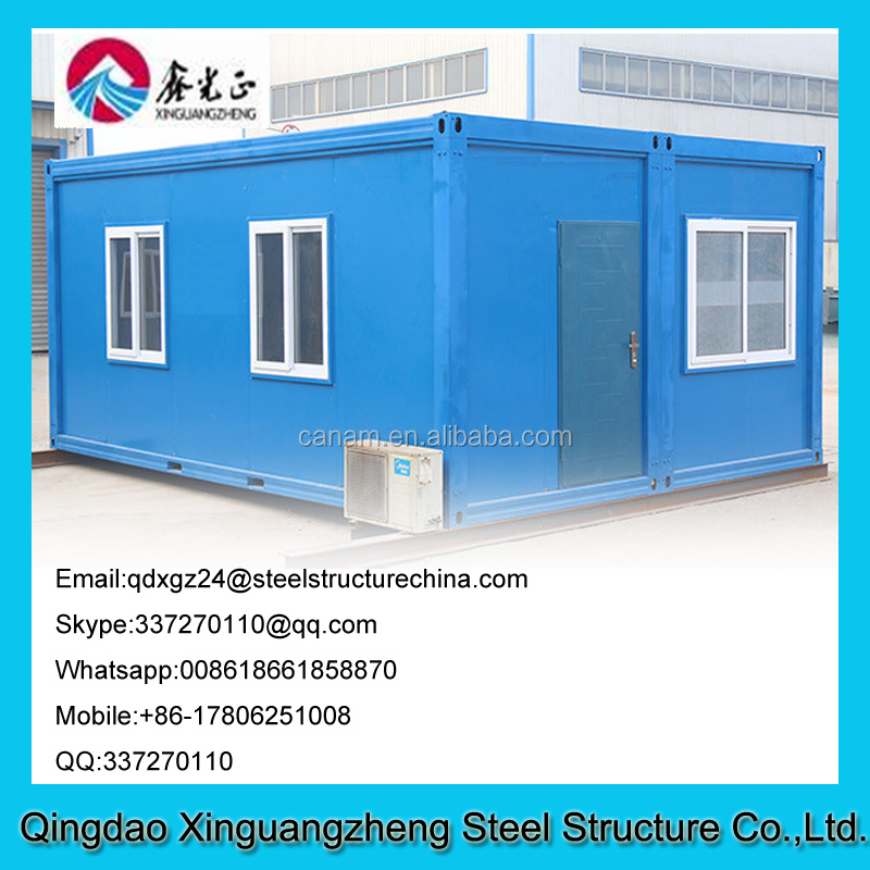 New designed site office container house cost