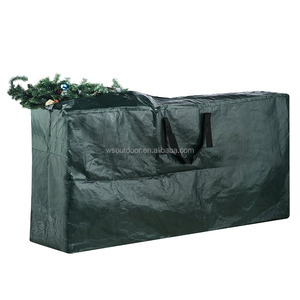 hot selling premium PE woven plastic storage bag for Christmas tree
