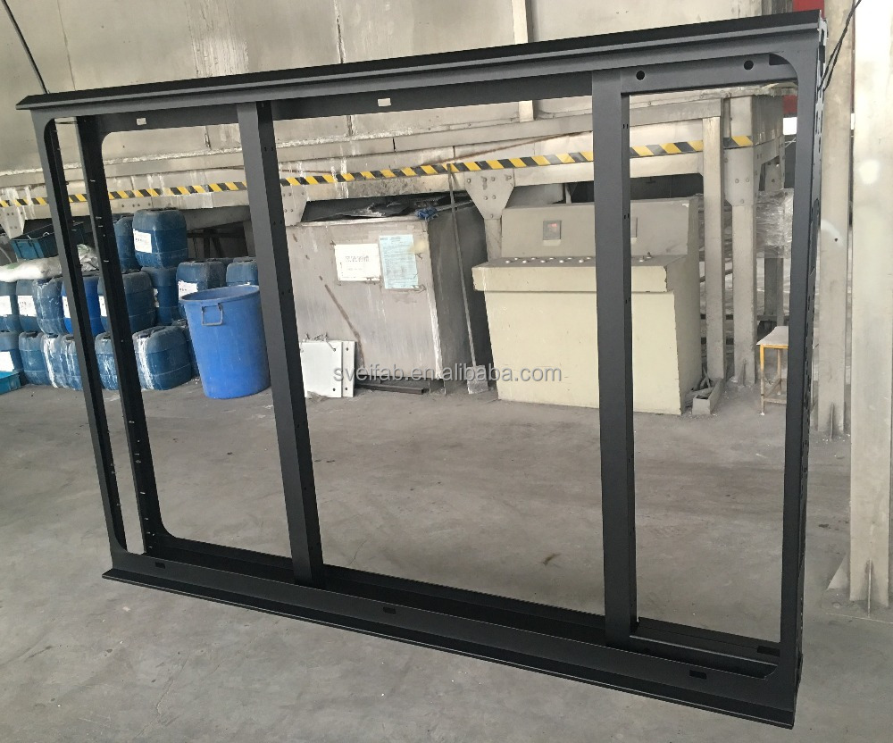 Outdoor advertising metal frames