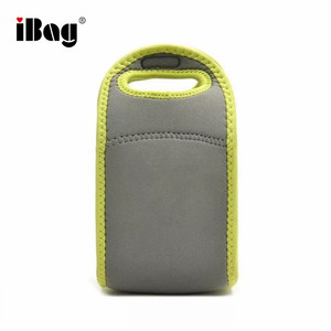 China Factory Children Cute Small Soft Neoprene Reusable Water Bottle Cooler Lunch Bag