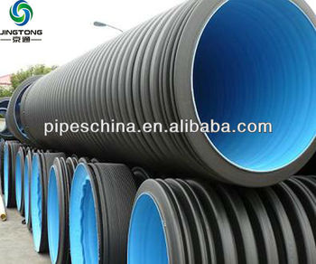Double wall smooth interior HDPE culvert pipe & Double Wall Smooth Interior Hdpe Culvert Pipe - Buy Double Wall ...