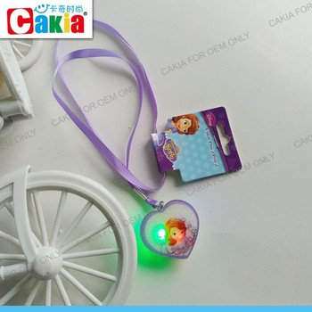 Happy Birthday Wishes Samples Led Flashlights Necklace Jewelry