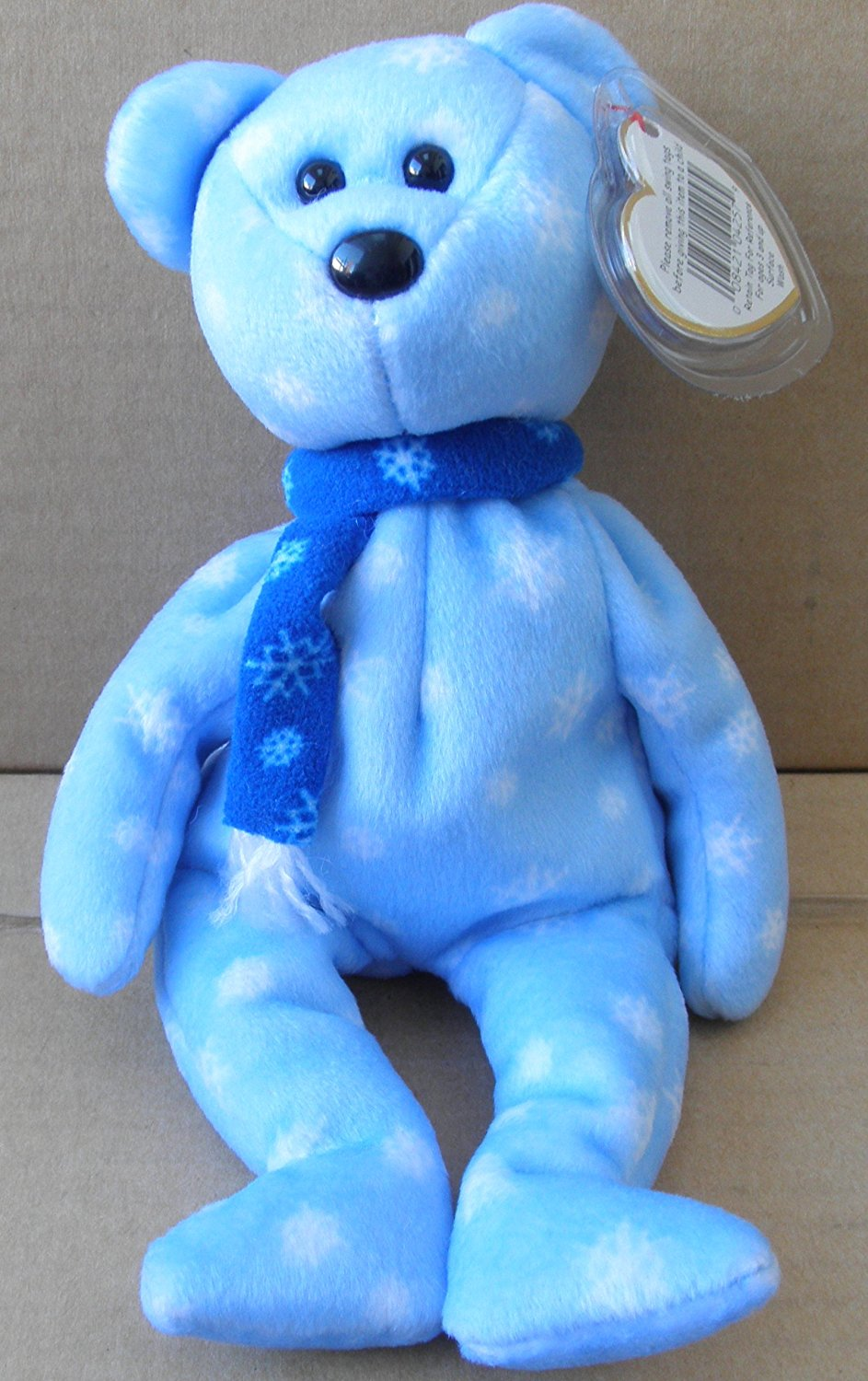 7405636e8f8 Get Quotations · TY Beanie Babies 1999 Holiday Teddy Bear Stuffed Animal  PlushToy - 8 1 2 inches