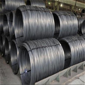 high carbon hot rolled steel sae1006 sae1008 5.5mm 6.5mm wire rod coil