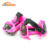 Child flashing light up LED roller skate PU wheels for shoes
