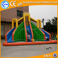 Giant cool inflatable water slide with large pool, new offer inflatable slides