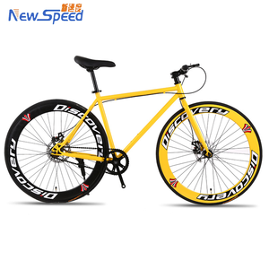 Top Selling Fixies Fixed Gear Fixie City Bike Fixie Urban Road Bike, Yellow
