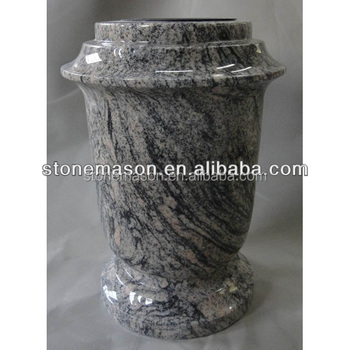 Supply Funeral Cemetery Vase With Granite Vase Accessories Flower