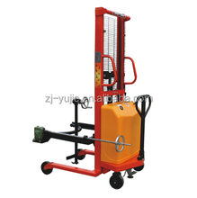 High quality 350kg semi electric drum truck lifter material handling machine with competitive price