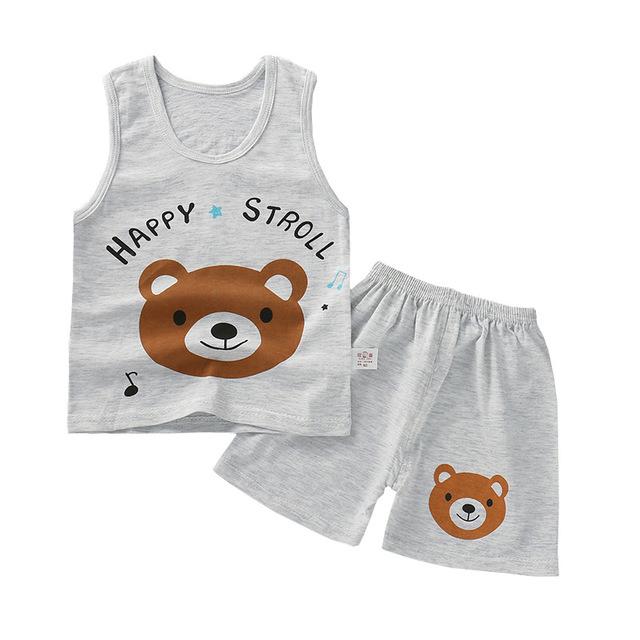 2019 のためのベビーブティックシャツとショートパンツの卸売衣服の女の子服セット