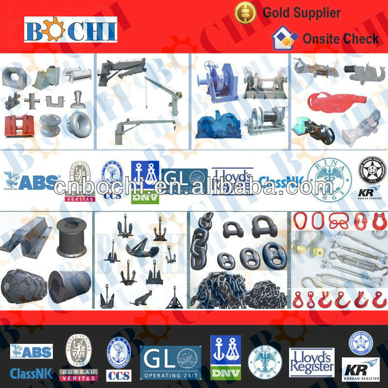 Chinese Bochi Used Marine Equipment for Sale