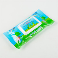 non woven daily needs kids tissue push wet wipes