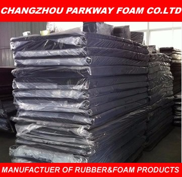 Anti- aid and aging black EPDM rubber sheet in hot-sales