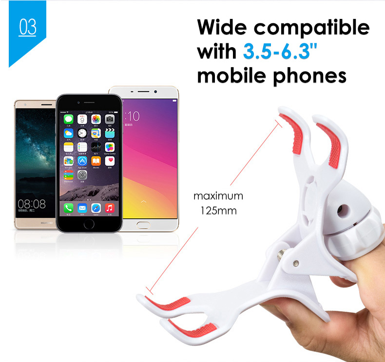 LICHEERS 2019 Silicone gravity mobile phone stand adjustable long arm lazy phone holder stand desk 75cm