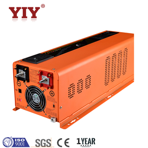 6000w psw7 power solar panel micro inverter dc to ac sine wave inverter with charger