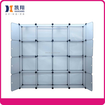 Plastic Folding Stackable Storage Cubes