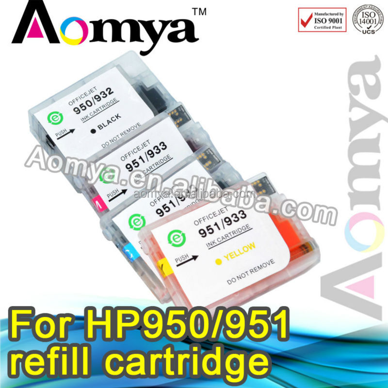 100% compatible for hp 950 951 Empty refill ink cartridge