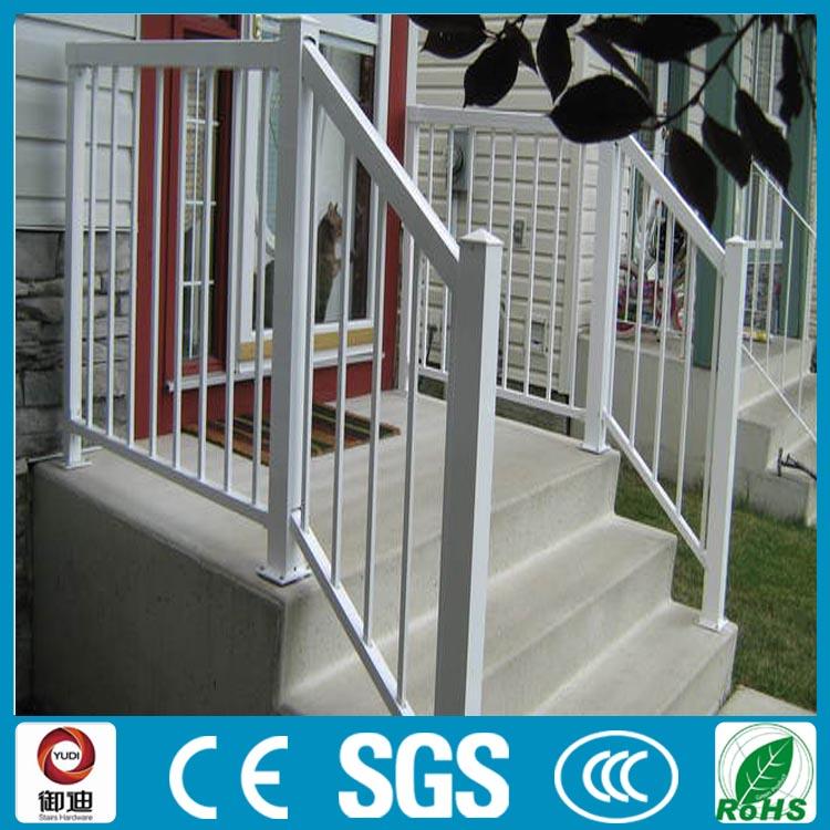 Fuente de la f brica blanco pintado aluminio barandillas for Fabrica escaleras aluminio