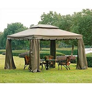 Open Box Bj S 10 X 12 Gazebo Replacement Canopy Top Cover Riplock