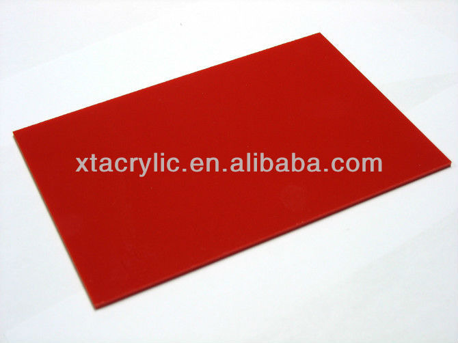China virgin PS Material 1mm 2mm 3mm Plastic PS sheet Polystyrene sheet with SGS approved