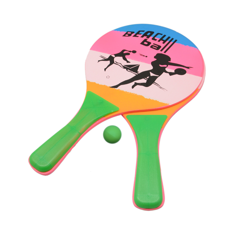Best Selling Houten Paddle Strand Tennisbal Racket