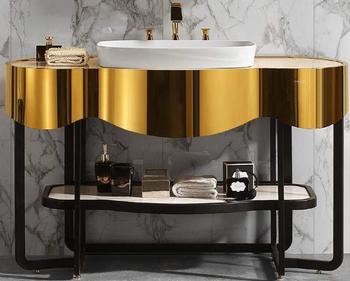 Bathroom Vanity Cabinets Buy Luxury Stainless Steel Bathroom