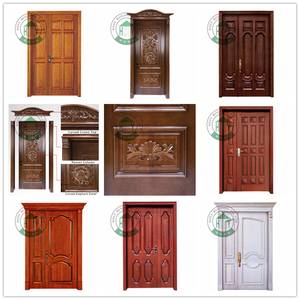 Widely Used round top door pvc wood plastic interior