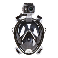 2019 Innovative Product Anti Fog Dry Diving 180 Degree Full Face Snorkeling Mask For Gopro Camera