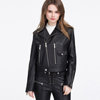 Top-quality faux or Genuine leather jacket ladies leather jacket pakistan real leather jacket for women