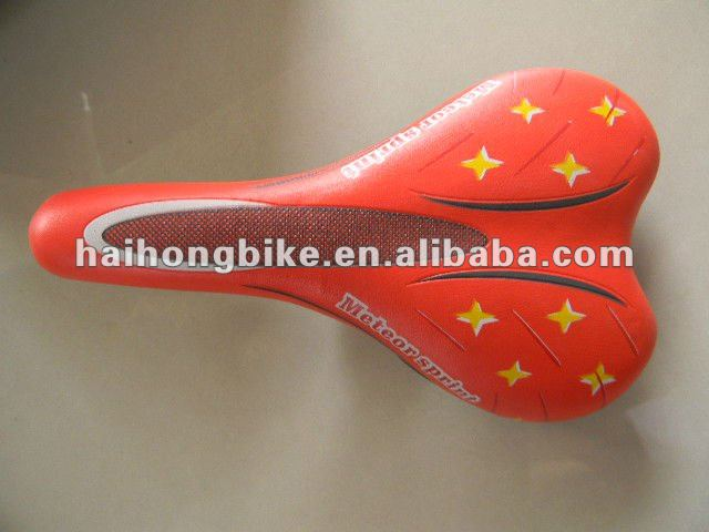High quality red MTB saddles with ISO9001