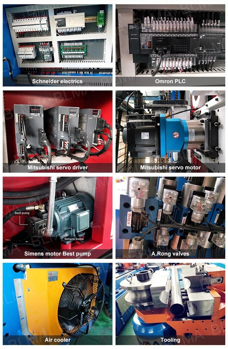 Tek Kafa 3D Otomatik Hidrolik CNC Kullanılmış Bender Haddeleme Boru Bükme Makinesi