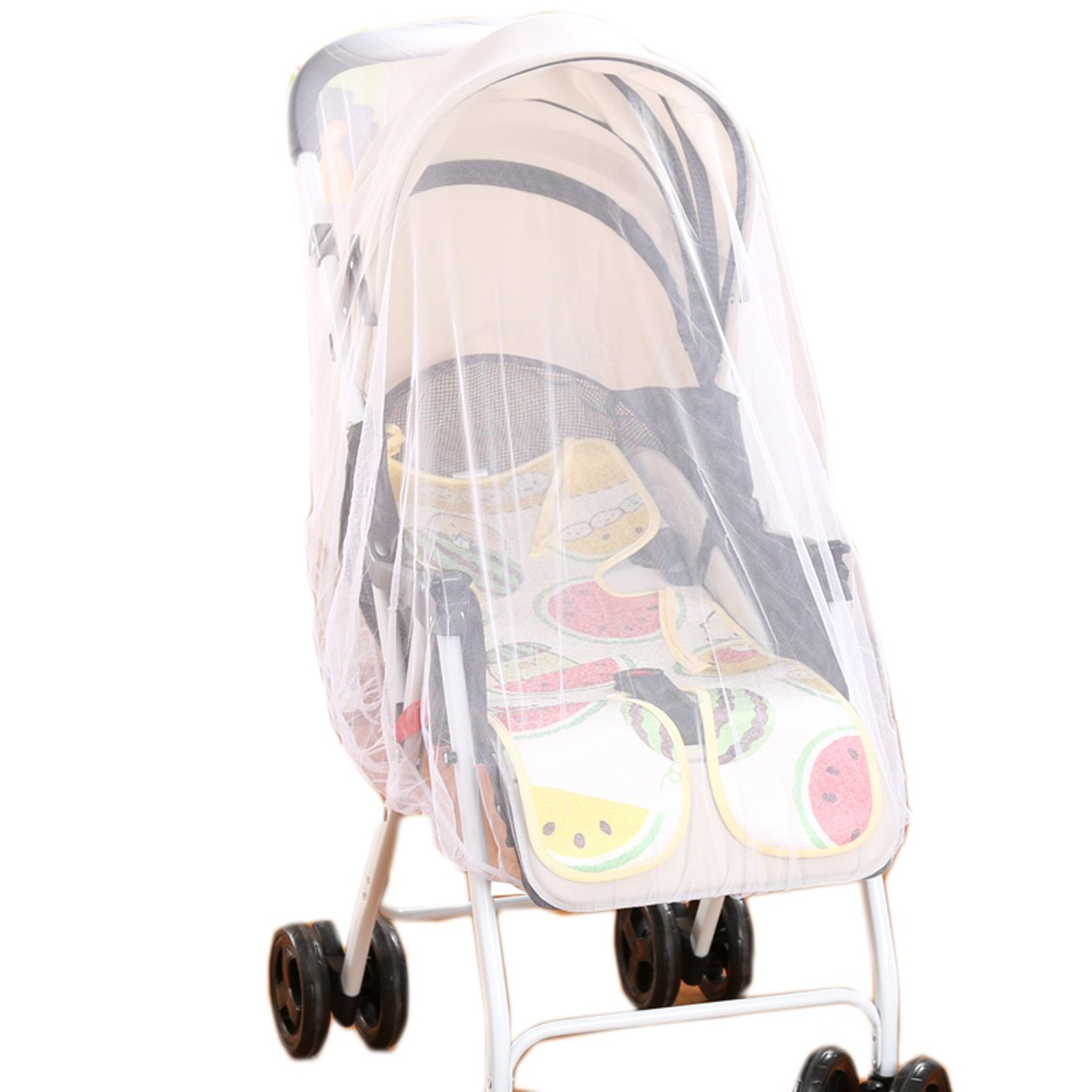 Ilucy 300cmX60cm Baby Cart Full Cover Mosquito Net For Strollers Infant Carriers Car Seats Cradles