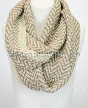 sell knit chevron infinity scarf buy chevron