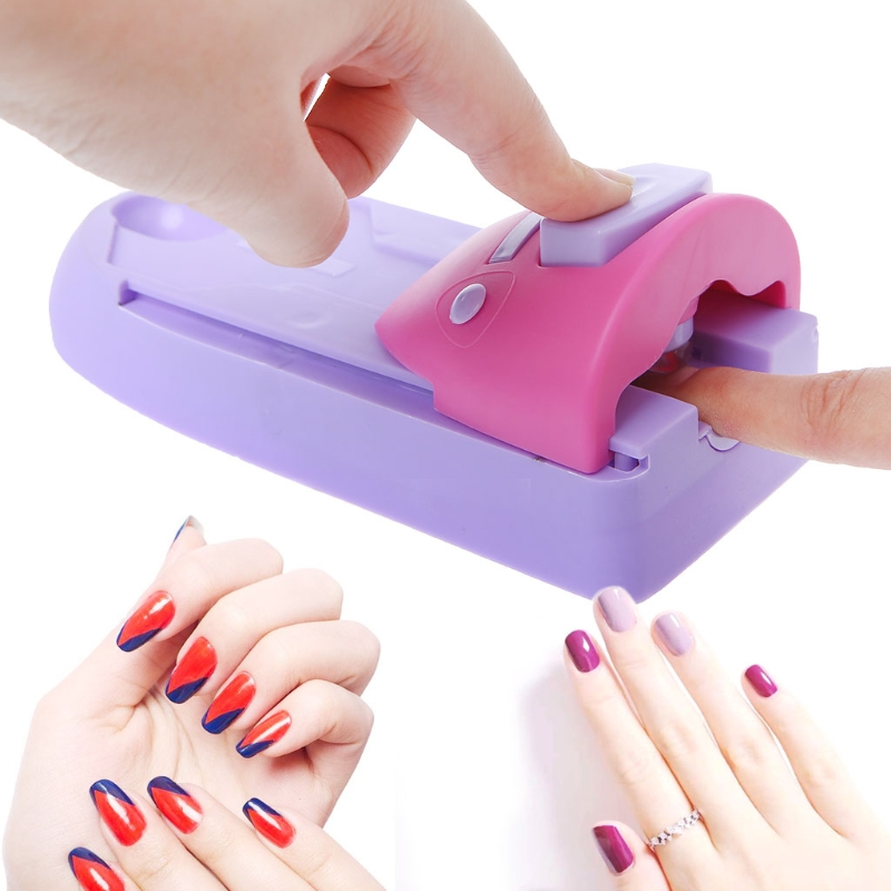 AMEIZII Nail Suppliers Digital Nail Printer Easy Printing Pattern Stamp Manicure Machine Stamper Tools Set Nails Equipment