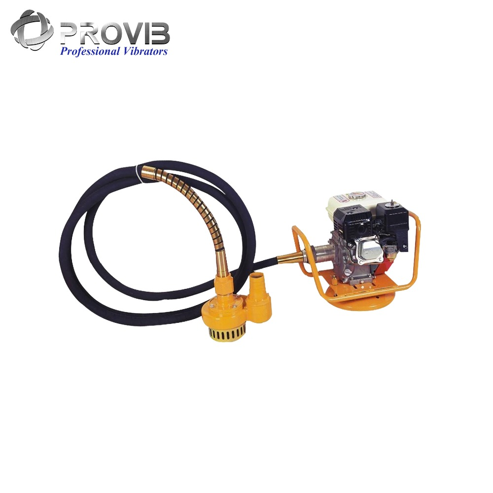 3'' output diameter Flexible hose submersible water pump with engine drive model