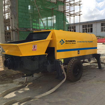 40m3/h Electric Engine Stationary Portable Small Widely Used Putzmeister  Concrete Pump For Sale - Buy Concrete Pump Price,Small Portable Concrete