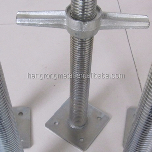 Construction Scaffold Jack Base,Used Scaffolding System