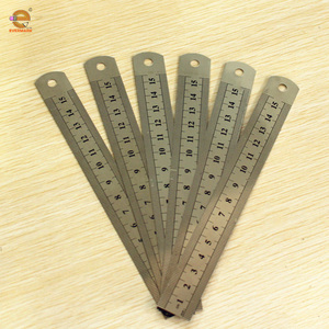 Most selling products metal ruler engraved