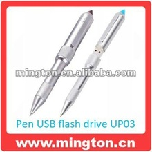 High Quality Colorful Custom Ball Pen USB Drive With Own Logo
