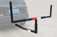 HITCH-BED-EXTENDER Heavy Duty Pickup Truck Bed Hitch Mounted Extender Rack Ladder Canoe Boat