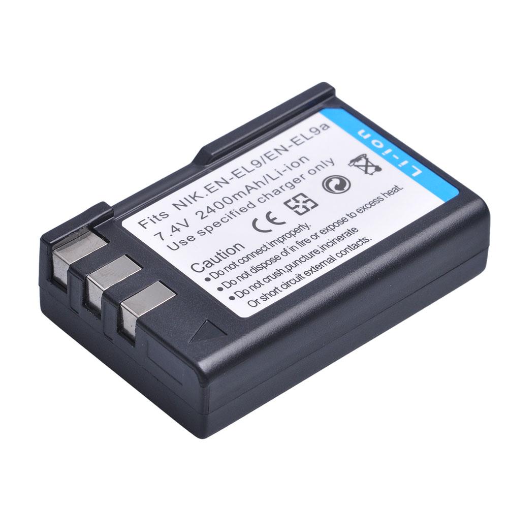 d3000 d60 Batería Li-ion como Nikon en-el9 en-el9a en-el9e para d40 d40x d5000